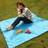 Outdoor Camping Portable Folding Pocket Compact Garden Moistureproof Pad Blanket Waterproof Ultralight Picnic Mat 6