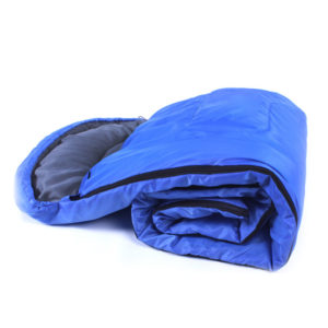 Outdoor Camping Sleeping Bag Warm Envelope Hooded Winter Sleeping Bags Adult Travel Sleep Bag