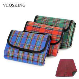 Outdoor Waterproof Camping Mat Foldable Picnic Blanket Beach Mat Baby Climb Plaid Blanket 150*200cm/150*180cm