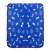 Pet Bed Blankets For Dogs 1 PC Pet Dog Cat Blanket Soft Warm Fleece Mat Bed Cover 70*60cm Bone Print Blanket Wholesale D28 4