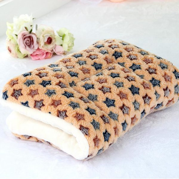 Pets Accessory Dogs Cat Rest Blanket Breathable Pet Cushion Dog Cats Bed Soft Warm Sleep Mat