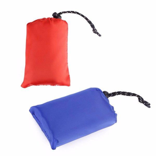 Portable Camping mat Outdoor portable waterproof picnic beach mat Folding tarpaulin baby play blanket pocket mat 150x150CM