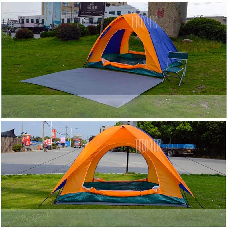 Camping Blanket Outdoor Picnic Camping Tent Spring Tour Mat Picnic Cloth 2##^