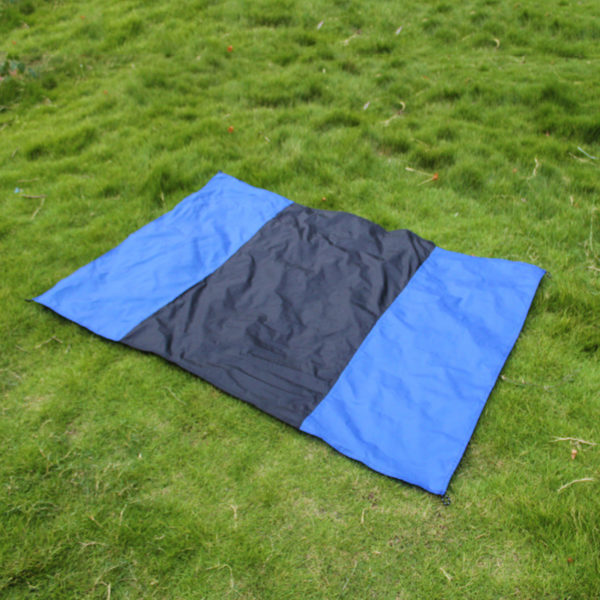 Portable Ultra thin Folding camping mat Pocket Blanket Camping Waterproof Blanket Outdoor picnic mat sand free Sand Beach mat