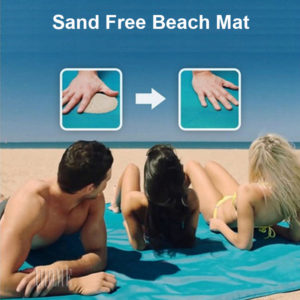 Quick Sand Free Beach Mat Outdoor Camping Picnic Blanket Waterproof Fast Dry Durable Travel Polyester Foldable Sandless Cushion
