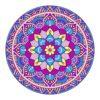 Round Beach Towel Yoga Mat Printed Circular Scarf Chiffon Shawl Outdoor Hippie Blanket Best Price 6