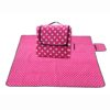 Sew Crane Multi-functional Picnic Blanket Outdoor Camping Rug Beach Mat Travel Play Mat, Pink Polka Dot 2