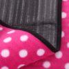 Sew Crane Multi-functional Picnic Blanket Outdoor Camping Rug Beach Mat Travel Play Mat, Pink Polka Dot 3