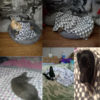 Soft Flannel Pet Dog Blanket Dots Printed Breathable Dog Cat Bed Mat Warm Pet Sleeping Cushion Cover For Pet Dog Cat Products 2