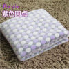 Soft Flannel Pet Dog Blanket Dots Printed Breathable Dog Cat Bed Mat Warm Pet Sleeping Cushion Cover For Pet Dog Cat Products 4
