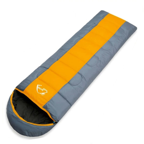Thick 1.3kg Wind Tour Thermal Adult Sleeping Bag Autumn Winter Envelope Hooded Outdoor Travel Camping Water Resistant