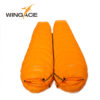 WINGACE Fill 1000G Goose down sleeping bag adult mummy ultralight hike winter outdoor Equipment camping sleep bags custom 5