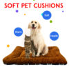 Winter Dog Cat Cushion Mat Soft Puppy Sleep Bed Kennel Warm Thick Pet Blanket Pad Matress Sofa For Small Medium Large Dogs XS-XL 2