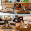 Winter Dog Cat Cushion Mat Soft Puppy Sleep Bed Kennel Warm Thick Pet Blanket Pad Matress Sofa For Small Medium Large Dogs XS-XL 5