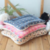 Winter Warm Dog Bed Soft Fleece Pet Blanket Cat Litter Puppy Sleep Mat Lovely Mattress Cushion for Small And Large Dogs 5 Size 2