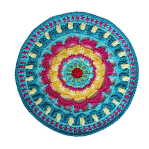 hot sales handmade cupmat colourful fashion house moving gift house and living blanket placemat crochet handmade 28cm