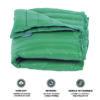 puredown Water Resistant Nylon White Goose Down Indoor/Outdoor Camping Blanket Blue cobertores para camas para invierno 3