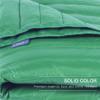 puredown Water Resistant Nylon White Goose Down Indoor/Outdoor Camping Blanket Blue cobertores para camas para invierno 4