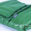 puredown Water Resistant Nylon White Goose Down Indoor/Outdoor Camping Blanket Blue cobertores para camas para invierno 5